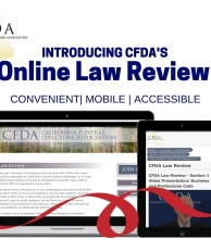 CFDA's Law Review Course is now available online!